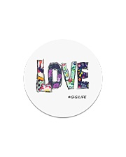 Love gigi Circle Magnet thumbnail