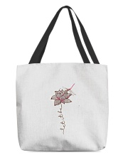 Tee Let It Be Dragonfly Lotus Graphic G All-over Tote thumbnail