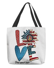 Love one All-over Tote thumbnail