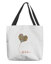 Let It Be Flowers Hippie All-over Tote thumbnail