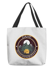 Camp Quicherbichin Funny Camping Gag All-Over Tote tile