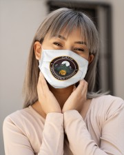 Camp Quicherbichin Funny Camping Gag Cloth face mask aos-face-mask-lifestyle-17