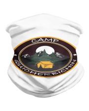 Camp Quicherbichin Funny Camping Gag Neck Gaiter tile