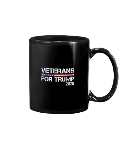 American Flag Veteran For Trump 2020 Gifts