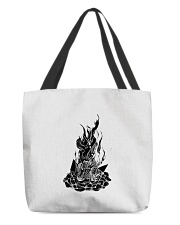 Star Gazer of Campfire Dreams Illustration All-over Tote thumbnail