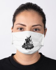 Star Gazer of Campfire Dreams Illustration Cloth face mask aos-face-mask-lifestyle-01