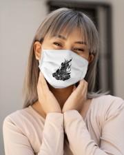 Star Gazer of Campfire Dreams Illustration Cloth face mask aos-face-mask-lifestyle-17