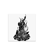 Star Gazer of Campfire Dreams Illustration Square Magnet thumbnail
