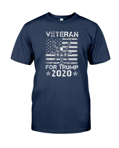 Veteran for Trump 2020 US president Trump