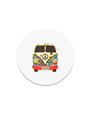 Hippie Hippies Peace Vintage Retro Costume Hippy Circle Magnet thumbnail