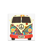 Hippie Hippies Peace Vintage Retro Costume Hippy Square Magnet thumbnail
