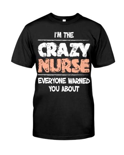 CRAZY NURSE Shirt