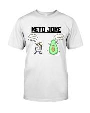 Corny Keto Joke For The Ketogenic Enthusiast Classic T-Shirt thumbnail
