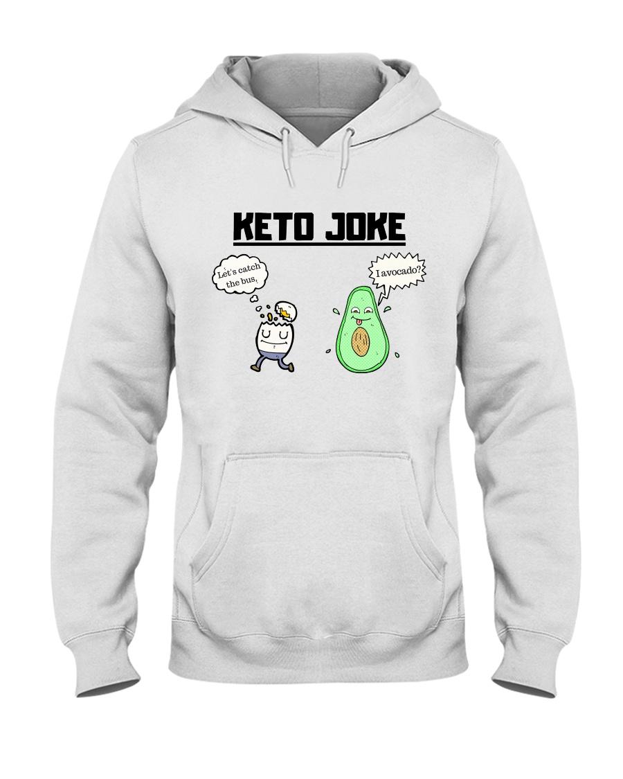 Corny Keto Joke For The Ketogenic Enthusiast Hooded Sweatshirt