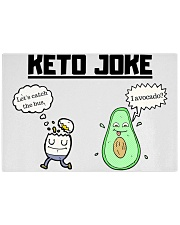 Corny Keto Joke For The Ketogenic Enthusiast Rectangle Cutting Board front