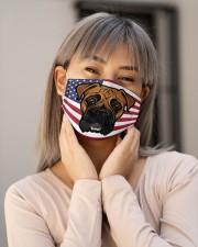Boxer Dog Face Mask Cloth face mask aos-face-mask-lifestyle-17