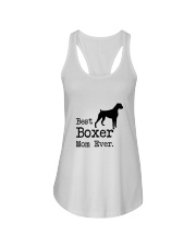 Best Boxer Mom Ever Ladies Flowy Tank thumbnail