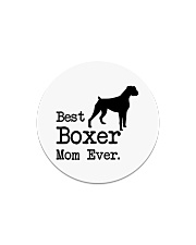 Best Boxer Mom Ever Circle Magnet thumbnail