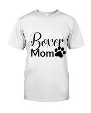 Boxer Mom T-shirt  Classic T-Shirt front