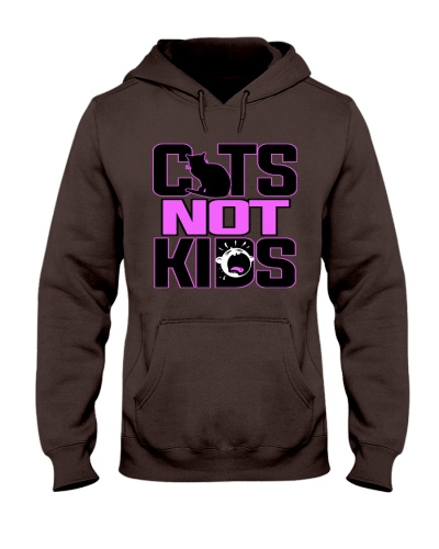 Cats Not Kids T Shirt 1
