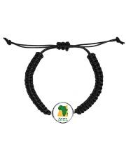 Mama Africa Face Mask Cord Circle Bracelet thumbnail