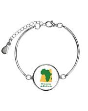 Mama Africa Face Mask Metallic Circle Bracelet thumbnail