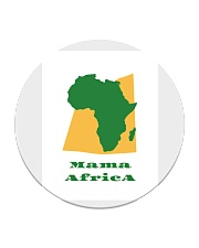 Mama Africa Face Mask Circle Coaster thumbnail