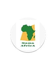Mama Africa Face Mask Circle Magnet thumbnail