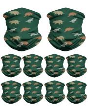 Dino Pattern Neck Gaiter - 10 Pack front