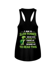 I AM A SLOW RUNNER Ladies Flowy Tank thumbnail