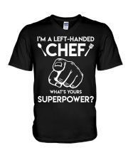 I'm A Left-handed Chef Shirt V-Neck T-Shirt thumbnail