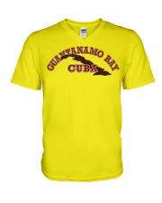Guantanamo Bay Cuba  V-Neck T-Shirt thumbnail