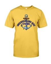 Guantanamo Bay Cuba - Anchor Classic T-Shirt front