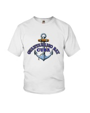 Guantanamo Bay Cuba - Anchor Youth T-Shirt thumbnail
