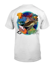 Latitude 35 Sea Life Classic T-Shirt back