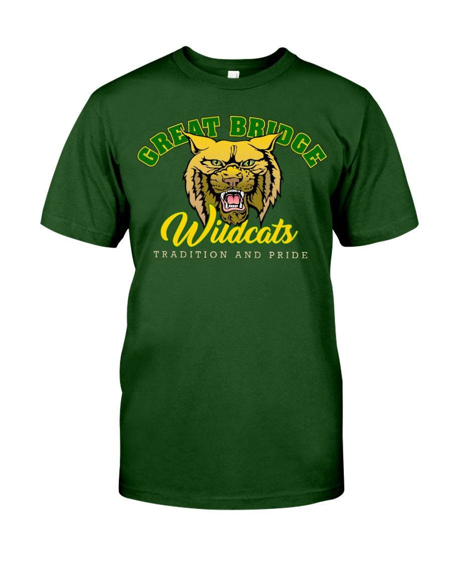Great Bridge Wildcats - Tradition and Pride Classic T-Shirt