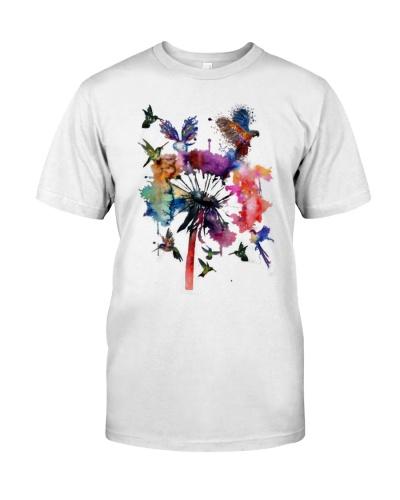 Birds and Flowers Art