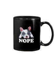 Nope French Bulldog T Shirt Lazy Funny Dog Lover M Mug thumbnail