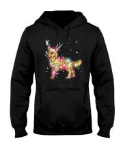 Christmas Lights Golden Retriever Dog T Shirt Hooded Sweatshirt thumbnail