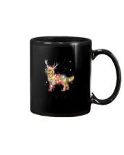 Christmas Lights Golden Retriever Dog T Shirt Mug thumbnail
