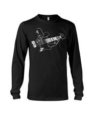 Mens Bass Guitar Player Music Guitarist Musician R Long Sleeve Tee thumbnail