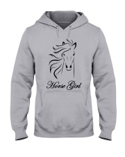 Horse Girl T Shirt Top Racing Riding Horses Lover  Hooded Sweatshirt thumbnail