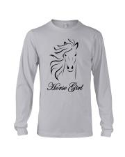 Horse Girl T Shirt Top Racing Riding Horses Lover  Long Sleeve Tee thumbnail