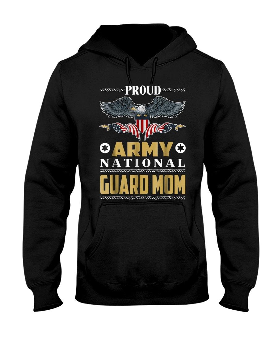 Proud Army T Shirt National Guard Mom T Shirt Hooded Sweatshirt