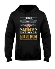 Proud Army T Shirt National Guard Mom T Shirt Hooded Sweatshirt front