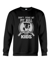 My Pit bull Design Crewneck Sweatshirt tile