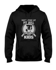 My Pit bull Design Hooded Sweatshirt tile