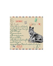 Wolf - Orders SHIP WITHIN 3 TO 5 business days Square Magnet thumbnail