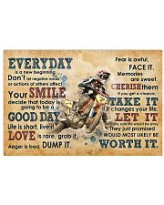 Picture Motocross 17x11 Poster front