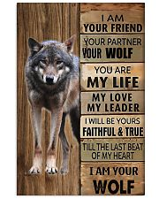 Picture for lover wolf 11x17 Poster front